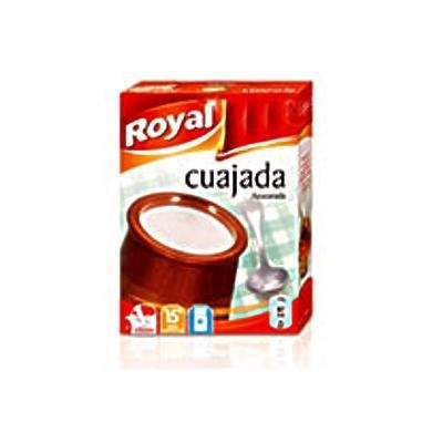 Cuajada Royal 4 sobres
