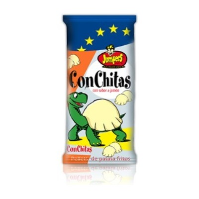 JUMPERS CONCHITAS JAMON BOLSA 30 GRS