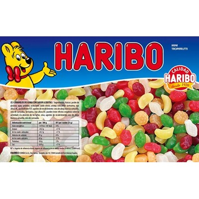 mini fruta tropical bolsa 1 kg. haribo